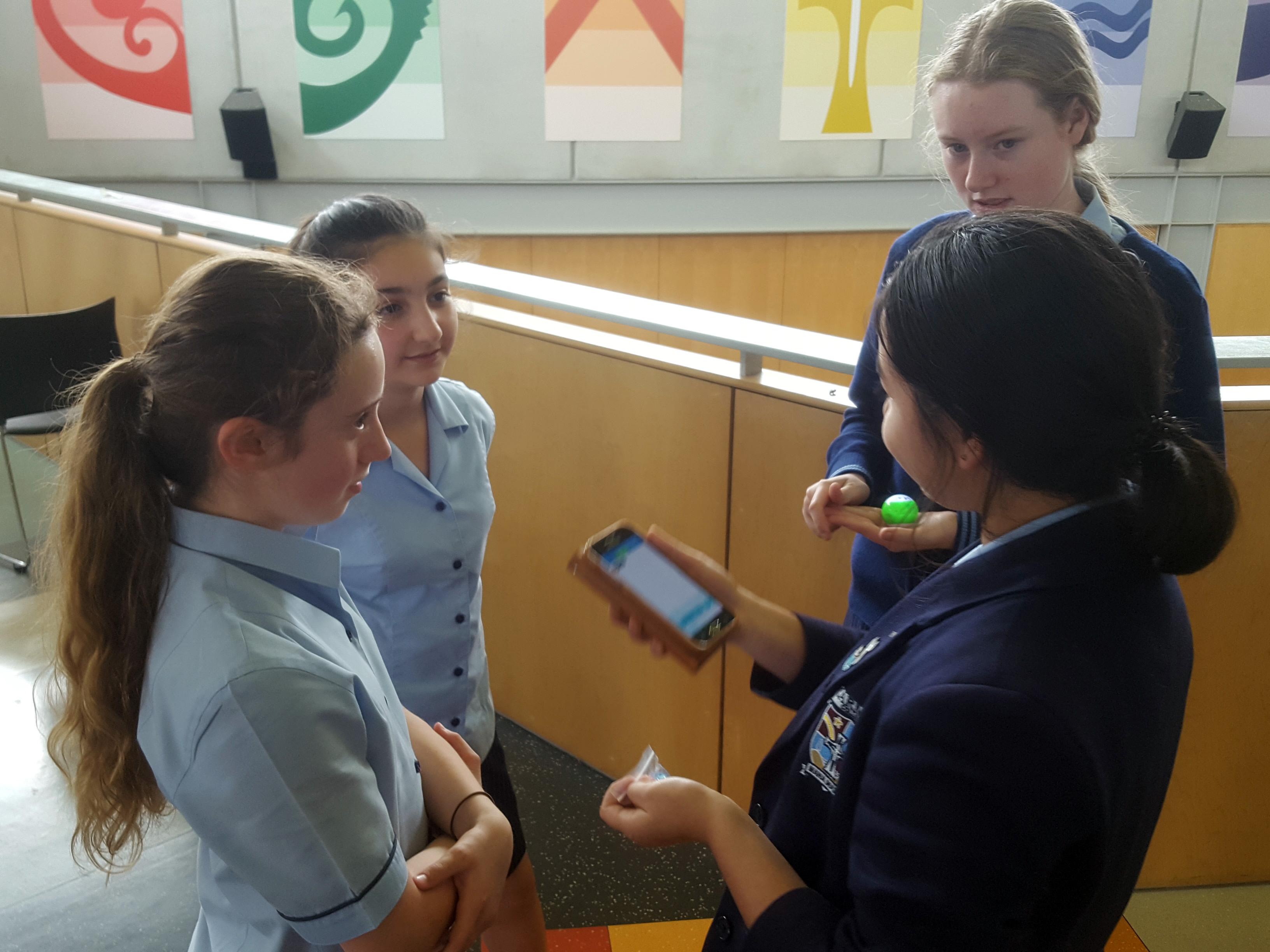 Year 10 Students Teach Year 7 Students Digital Technologies