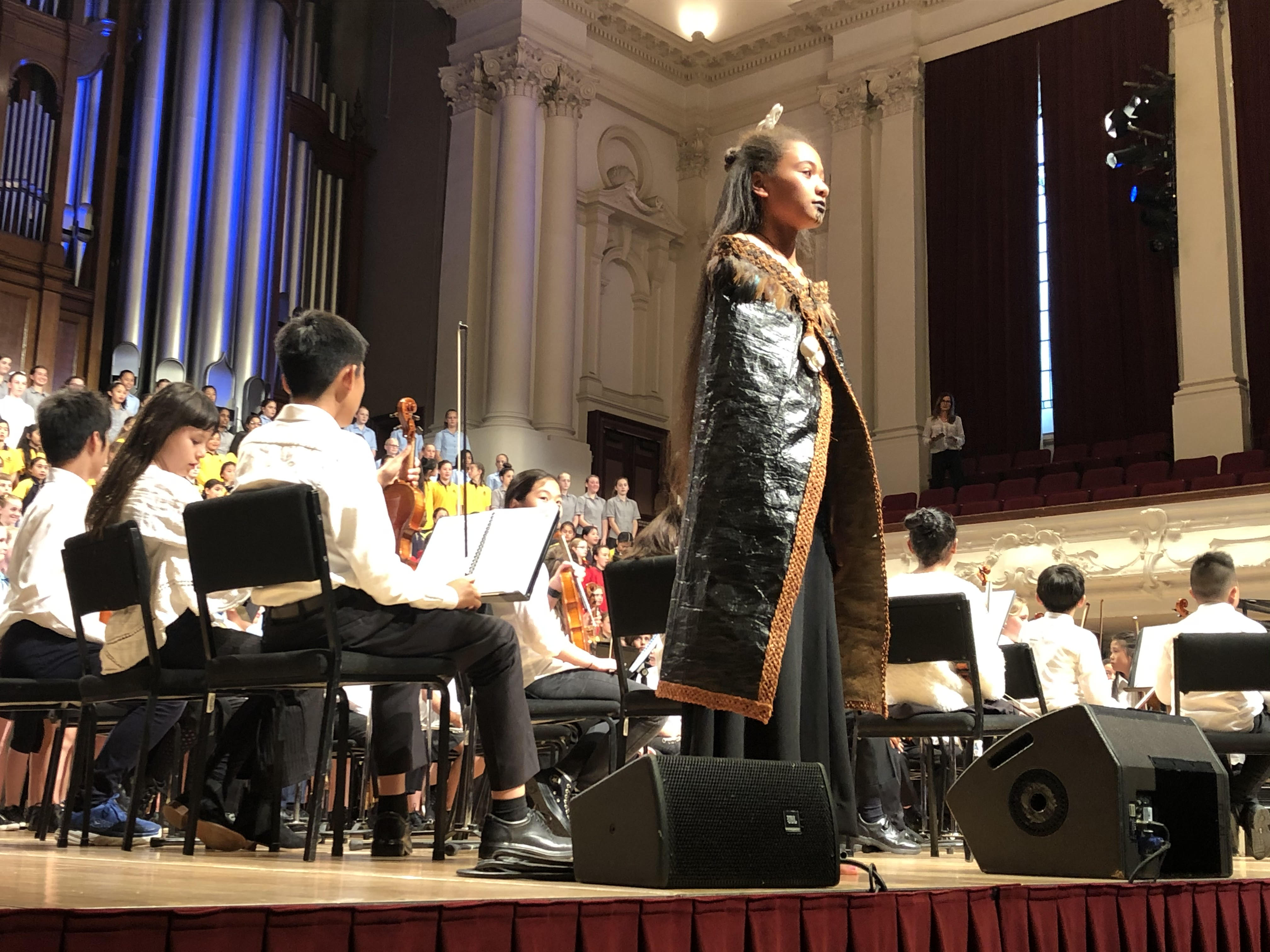 Students Sing At APPA Music Festival