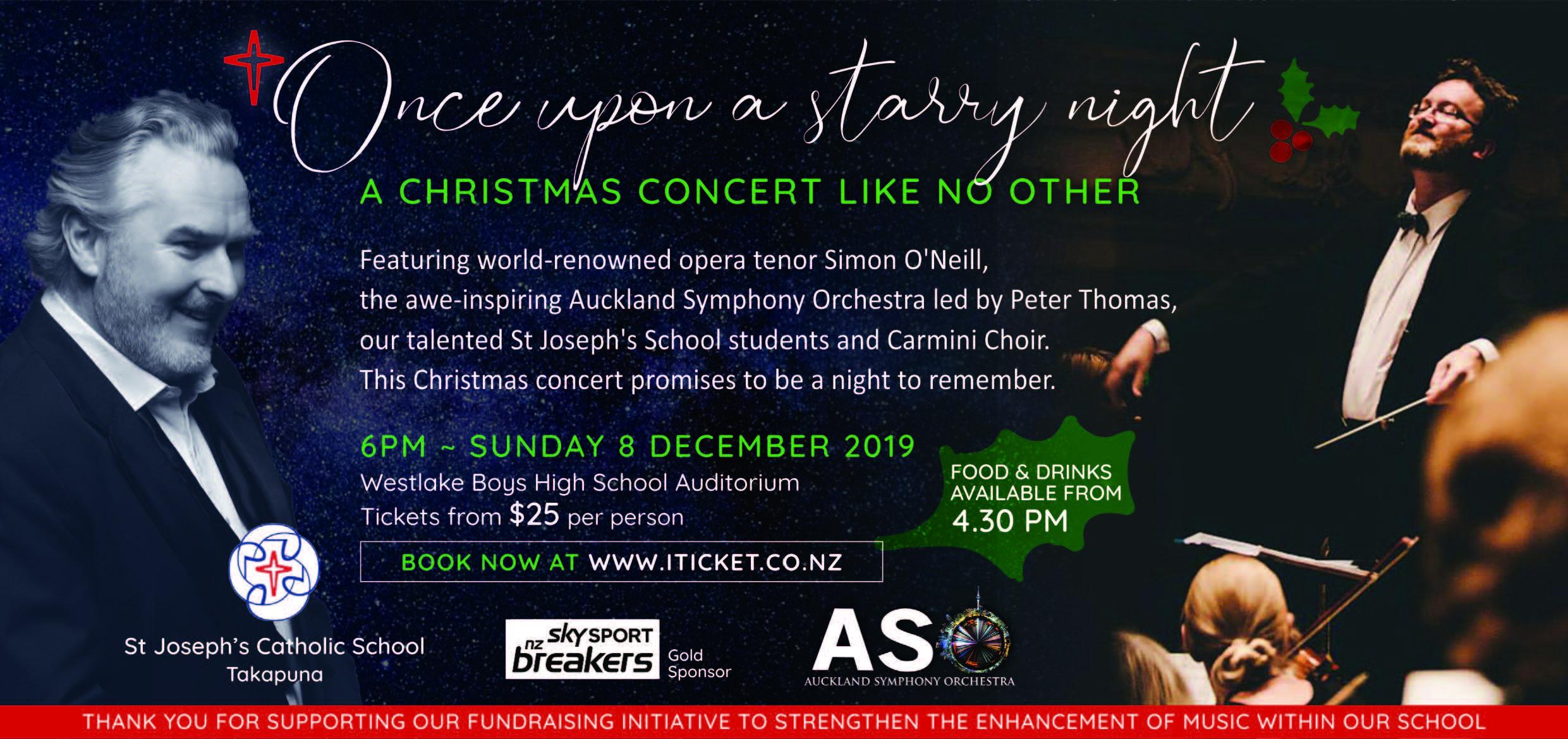St Joseph's Christmas Concert Featuring Carmel and Rosmini Choir