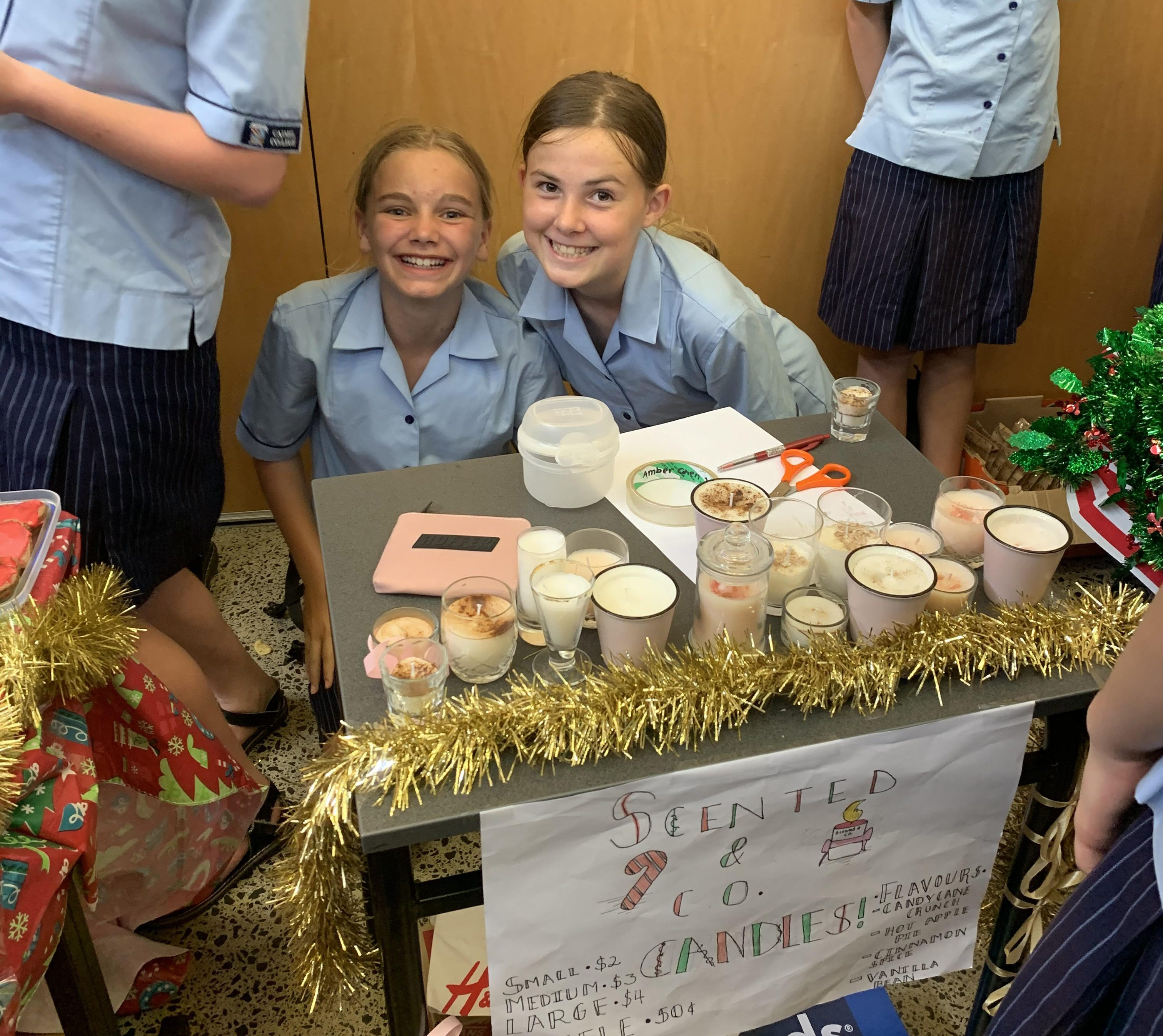 Year 7 and 8 Christmas Market