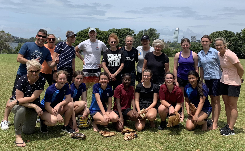 Year 9 Softball Game Staff Versus Students