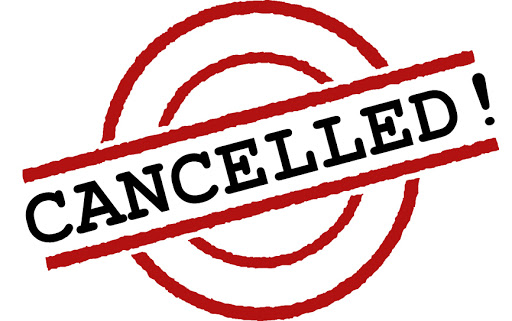 Cancelled / Postponed Events