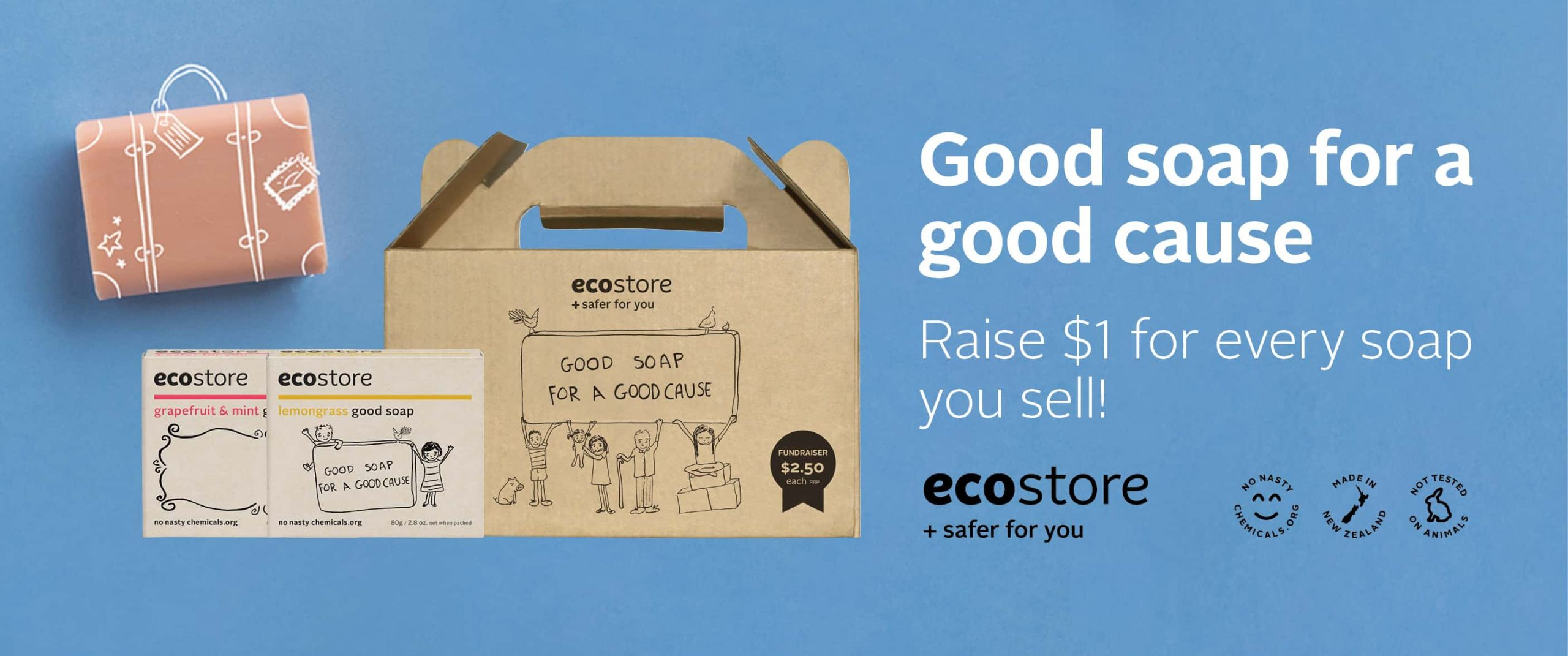 ecostore 'Good Soap' sale! – PTFA Fundraiser