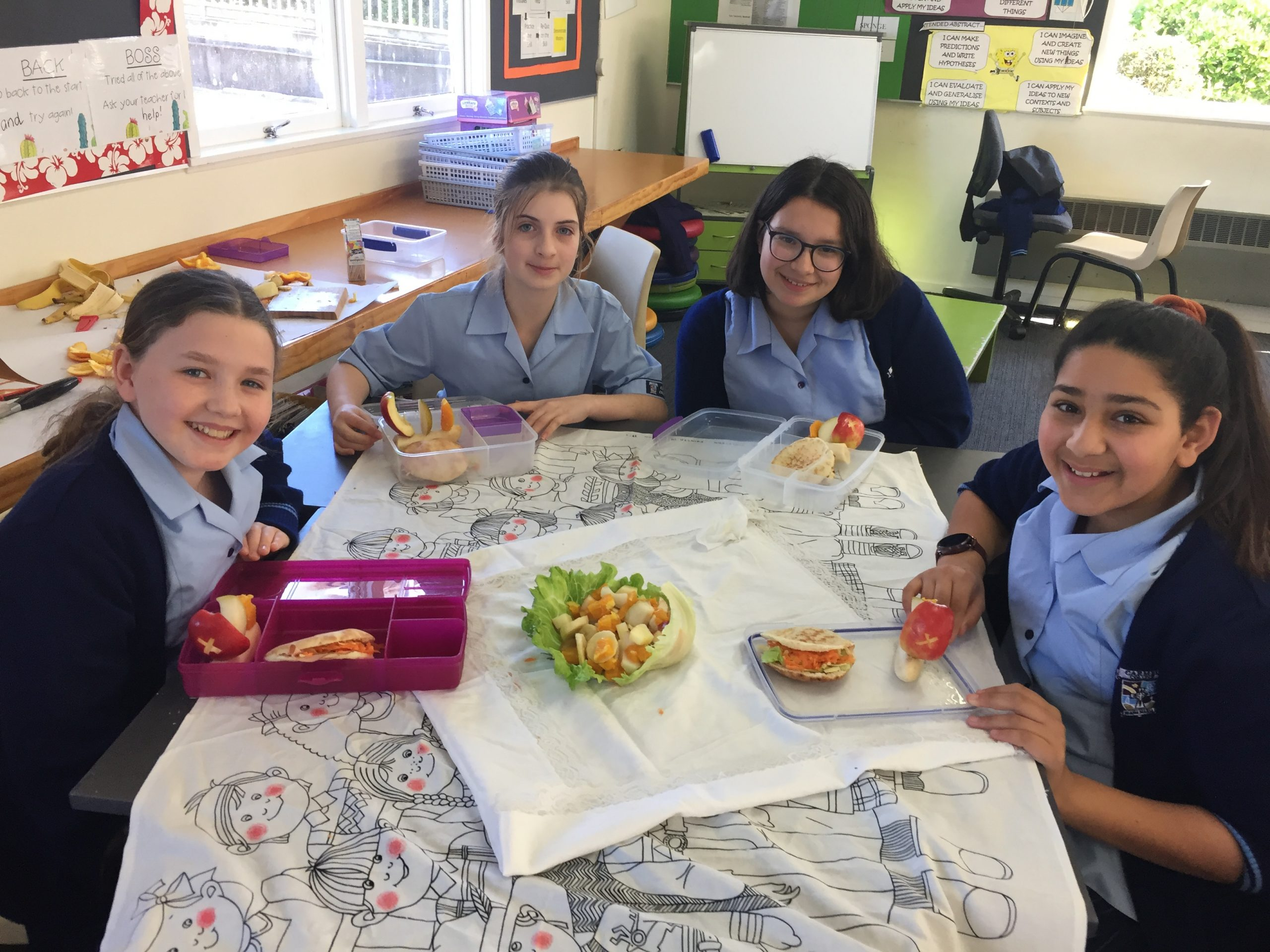 Year 7's Healthy Lunch